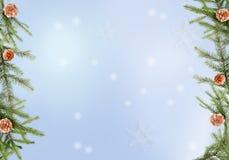 wakacje tła zima royalty ilustracja
