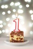 Wakacje tort Obraz Royalty Free