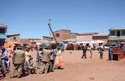 Wakacje w małej wiosce w Boliwia Obraz Royalty Free