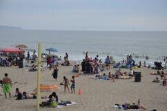Wakacje w plaży fotografia stock