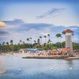 Wakacje w republice dominikańskiej obrazy stock