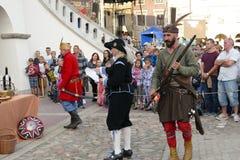 Wakacje w UNESCO mieście Zamość zdjęcia royalty free