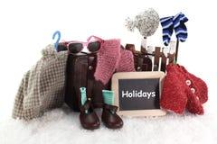wakacje zima zdjęcie royalty free