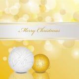 Wakacji ornamentów karta Zdjęcia Stock
