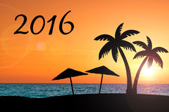2016 wakacji pojęcie Obrazy Stock