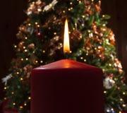 Wakacyjna świeczka Zdjęcia Royalty Free