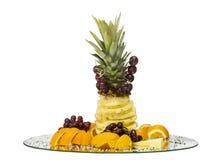 Wakacyjna owocowa taca Zdjęcie Royalty Free