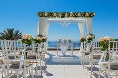 Wakacyjne dekoracje dla ślubu Zdjęcie Stock