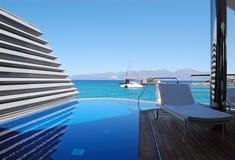 wakacyjne hotelowe luksusowe wille Fotografia Royalty Free