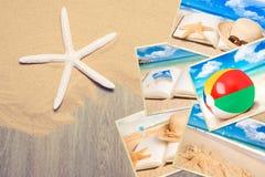 Wakacyjne pocztówki Obrazy Stock