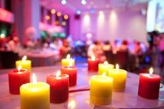 Wakacyjne świeczki Obraz Royalty Free