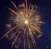 Wakacyjni świętowanie fajerwerki zdjęcie royalty free