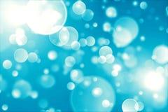 Wakacyjni światła abstrakcjonistyczny tło. Obraz Stock