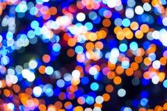 Wakacyjni abstraktów światła Zdjęcie Royalty Free