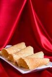 Wakacyjni ciastka Obrazy Royalty Free