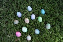 wakacyjni Easter jajka obraz royalty free