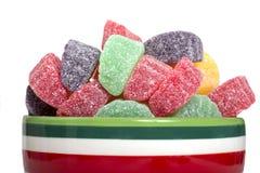 Wakacyjni gumdrop cukierki Zdjęcie Royalty Free