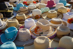 Wakacyjni kapelusze Obraz Royalty Free