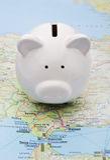 Wakacyjni savings Zdjęcia Royalty Free