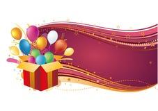 Wakacyjny świętowanie wektorowa ilustracja Fotografia Royalty Free