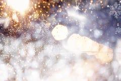 Wakacyjny abstrakcjonistyczny błyskotliwości tło Zdjęcia Royalty Free