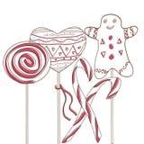 Wakacyjny cukierek Obraz Royalty Free