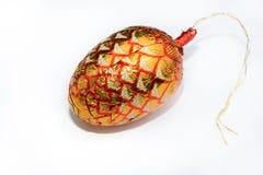 Wakacyjny czekoladowy jajko Fotografia Royalty Free