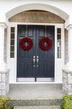 Wakacyjny Domowy Drzwi Obrazy Royalty Free