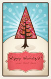 wakacyjny drzewo Fotografia Royalty Free