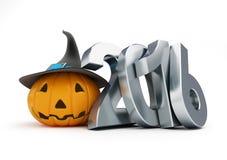 Wakacyjny Halloween w 2016 3D ilustracje Zdjęcia Royalty Free