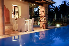 Wakacyjny kurort na Mallorca Zdjęcia Royalty Free