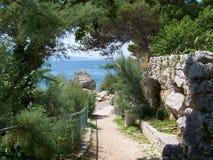 Wakacyjny kurort w Chorwacja fotografia royalty free