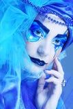 Wakacyjny makijaż Zdjęcie Royalty Free