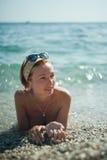 wakacyjny morze Fotografia Stock
