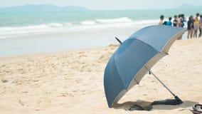 Wakacyjny parasol Zdjęcie Royalty Free
