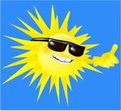 wakacyjny słońce Obrazy Royalty Free