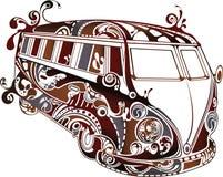 wakacyjny samochód dostawczy Obraz Royalty Free