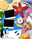 Wakacyjny scrapbook Obrazy Royalty Free