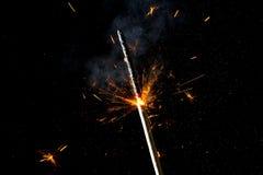 wakacyjny sparkler Zdjęcie Royalty Free