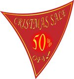 Wakacyjny sprzedaży, rabat sprzedaży logo i i Zdjęcie Royalty Free