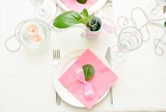 wakacyjny tableware fotografia stock