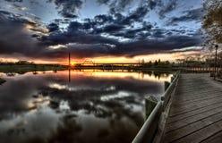 wakamaw долины восхода солнца Стоковые Фотографии RF
