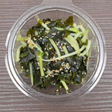 Wakame Salad. Raw Seaweed Japanese Cuisine Royalty Free Stock Images