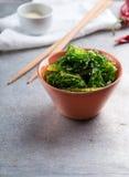 Wakame salad Royalty Free Stock Photo