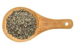 Wakame seaweed - isolated spoon Royalty Free Stock Image