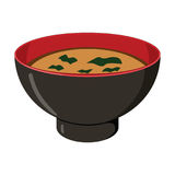 Wakame Soup Royalty Free Stock Images
