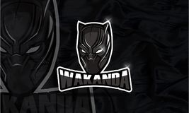 Wakanda logo Esport game and youtube. Hello... I have a some references for your logo.I make a logo Wakanda Esport game. i hope you like my logo design.. if you Vector Illustration