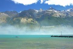 Wakatipu del lago Fotografia Stock