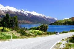 Wakatipu del lago Immagine Stock