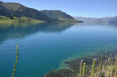 Wakatipu lake landscape in NZ. Stock Photos